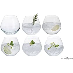Dartington ohne Stiel Gin Copa Party Set aus 6-Gläser