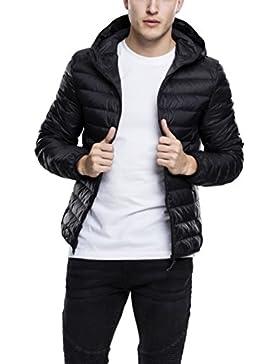 Urban Classics Basic Hooded Down Jacket, Chaqueta para Hombre