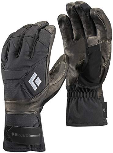 Black Diamond Punisher Handschuhe für eisige Temperaturen / Extrem warmer Winterhandschuh mit Ziegenleder Handfläche und Aufprallschutz / Unisex, Black, Größe: S -