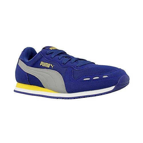 Puma Cabana Racer Mesh JR - 35637219 - Couleur: Gris-Violet - Pointure: 36.0