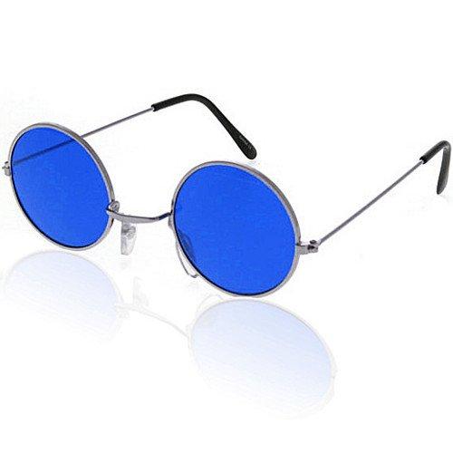 - Brille John Lennon ┃ Hippie Flower Power ┃ Blau (John Lennon Brille Blau)