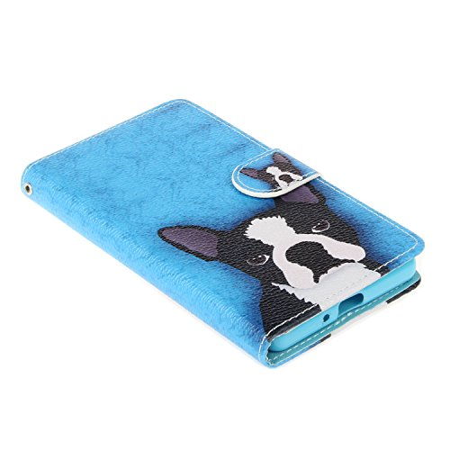 Custodia per iPhone 6 Plus / 6S Plus (5,5 Zoll),Cover per iPhone 6 Plus / 6S Plus (5,5 Zoll) in Silicone Case,Cozy Hut PU Pelle Custodia,Lusso Accessori Wallet Case Book Design Folio Shell Bumper Attr cucciolo