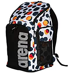 Arena Team Backpack 45 Allover Bags, Adultos Unisex, Polka Dots, TU