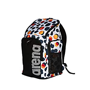 41OY1GmwAcL. SS300  - arena Team Backpack 45 Allover Bags, Unisex Adulto