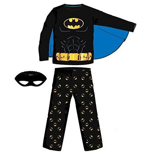 Pijama largo, diseño de Batman multicolor 6 años