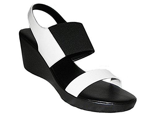 Sandalo plateau Donna grandi e piccole taglie