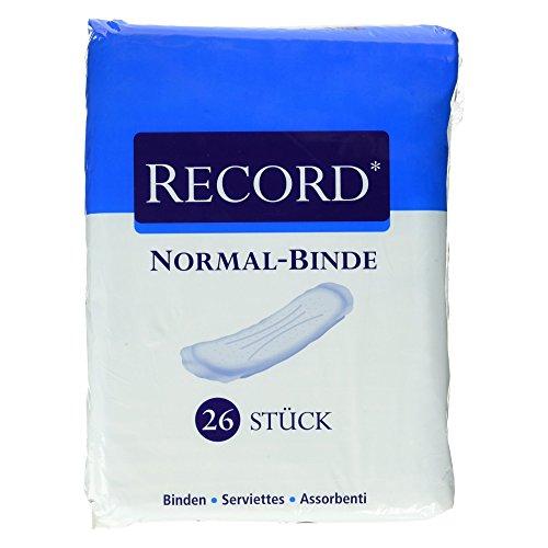 Camelia Record Normal Binde, 26 Stück
