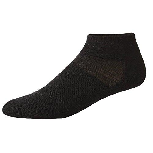 minus33Merino Wolle Outdoor Sport Life Socke, Damen Mädchen Herren Jungen, Anthrazit, XL (Wolle Kinder Socken Merino)