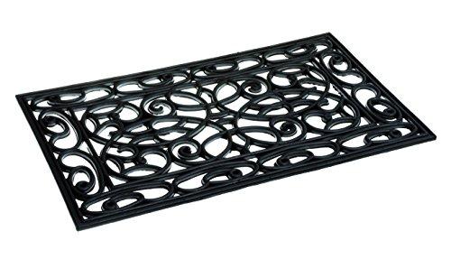 Stufenmatten, 100% Gummi 75 x 25 cm Türmatte Fussmatte