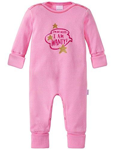 Schiesser Baby-Mädchen Zweiteiliger Schlafanzug Anzug mit Vario Rot (Rosa 503), 86 (Herstellergröße: 086) (Roter Schlafanzug Mädchen)