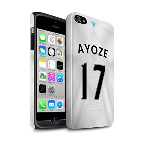 Offiziell Newcastle United FC Hülle / Glanz Harten Stoßfest Case für Apple iPhone 4/4S / Pack 29pcs Muster / NUFC Trikot Away 15/16 Kollektion Ayoze