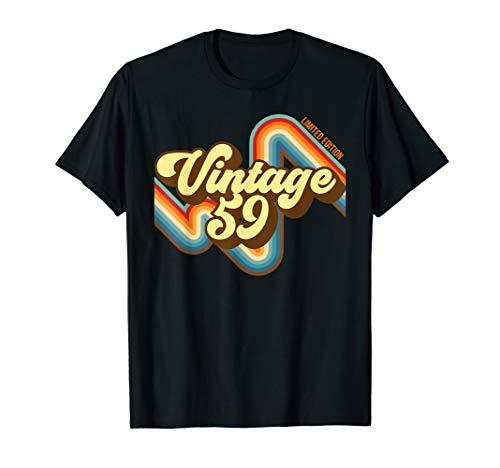 60. Geburtstag Vintage 59 limitierte Auflage geboren 1949 T-Shirt