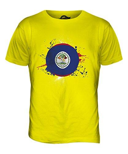 CandyMix Belize Fußball Herren T Shirt Zitronengelb