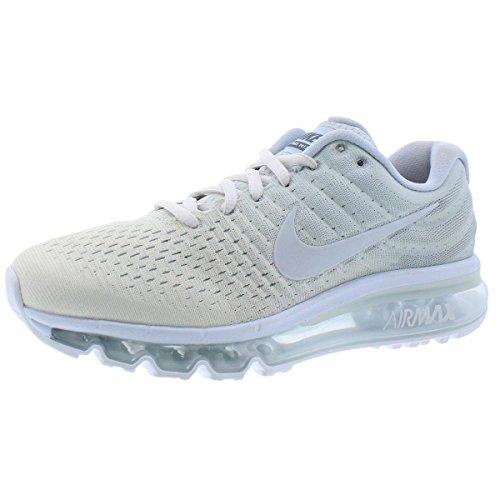 Nike Womens Air Max 2017 Running Trainers 849560 Sneakers Shoes (UK 6 Us 8.5 EU 40, phantom off white 005) (Nike Air Max Womens Running)