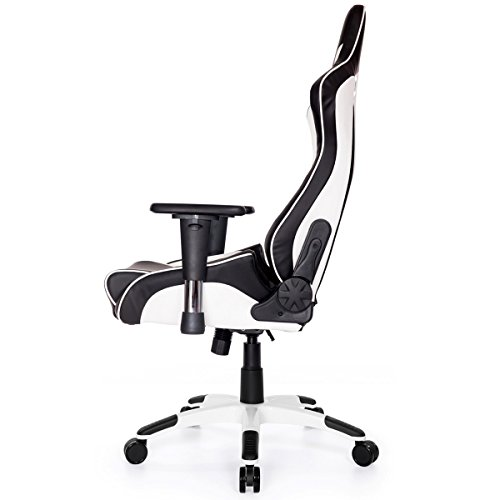 AKRacing CP - AK-CP-BW - Silla Gaming, Color Negro/Blanco