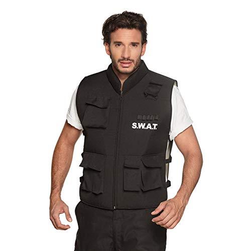 PARTY DISCOUNT® Herren-Kostüm SWAT Weste, ()