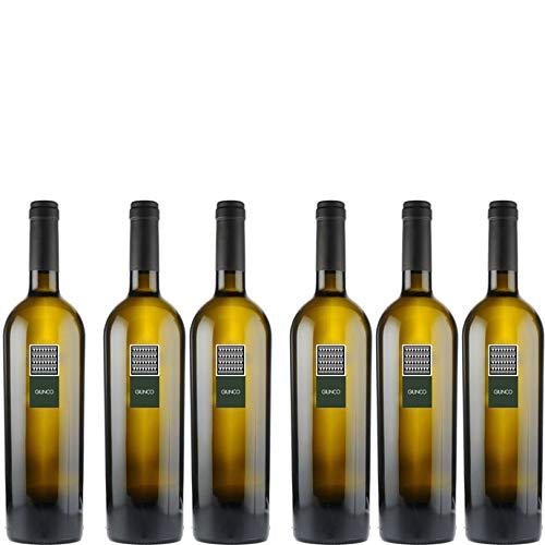 6 bottiglie per 0,75l -GIUNCO - VERMENTINO DI SARDEGNA DOC