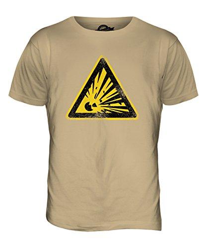CandyMix Explosionsgefährlich Herren T Shirt Sand