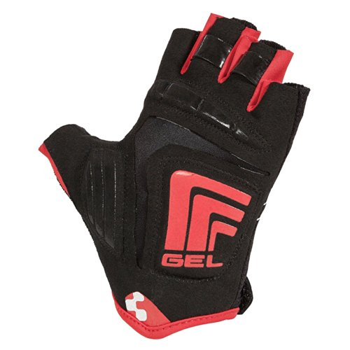 Cube Fahrradhandschuhe Natural Fit LTD Glove kurzfinger Men schwarz/weiß/rot (Größe: XXL)