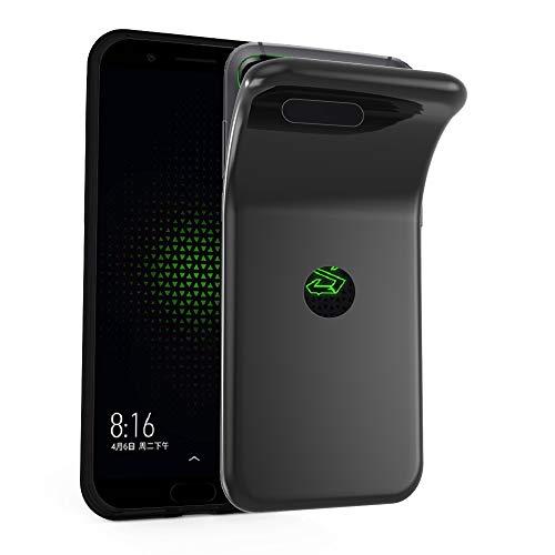 Cadorabo Hülle für Xiaomi Black Shark - Hülle in SCHWARZ – Handyhülle aus TPU Silikon im Ultra Slim 'AIR' Design - Silikonhülle Schutzhülle Soft Back Cover Case Bumper