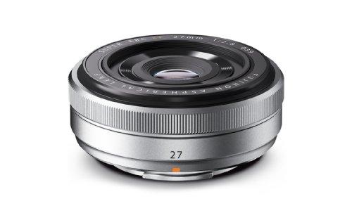 Fujifilm XF 27 mm F2.8 obiettivo per fotocamera - argento