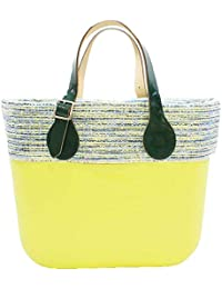 5ea8b64715 OBAG Borsa o bag mini verde mela sacca interna bordo manico corto piatto  verde