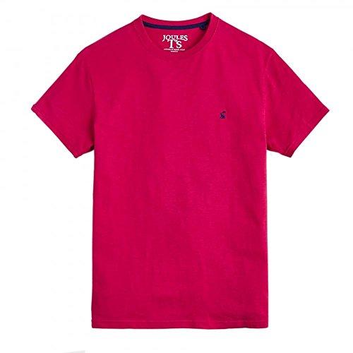 Tom Joule Herren T-Shirt Plain Tee Dark Raspberry