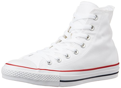 Converse Unisex Optical White Canvas Sneakers – 8 UK 41OYCP8cTrL