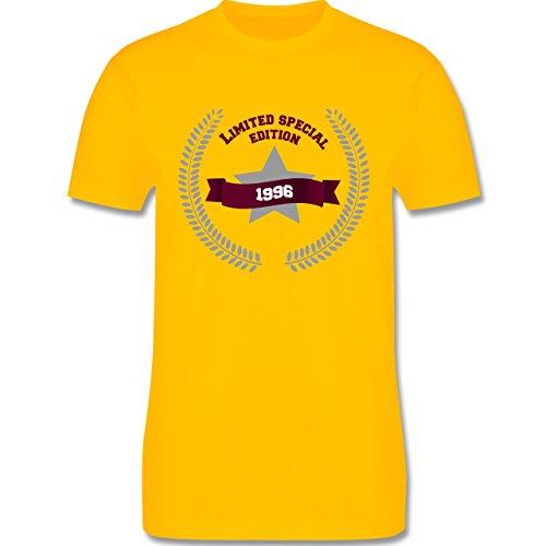 Geburtstag - 1996 Limited Special Edition - Herren Premium T-Shirt Gelb