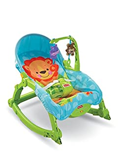 "Baby Gear - Hamaca""Multiposiciones Planeta"", juguete con sonido (Mattel T4145) (B002YGSJ88) 