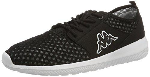 Kappa SOL Sneaker black unisex shoes trainers 242178/1110, Numero di scarpe:EUR 44