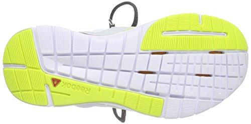 Reebok - Zcut Tr 2.0, Scarpe fitness Donna Blu (Blau (Polar Blue/Gravel/Semi Solar Yellow/White))