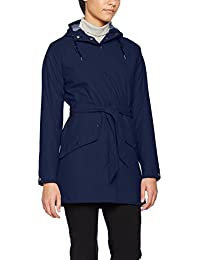 Helly Hansen Kirkwall Rain Abrigo, Mujer, Evening Blue, Small
