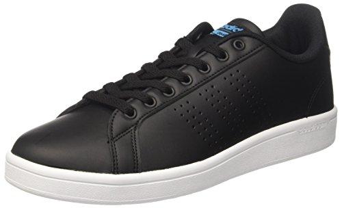 adidas Herren Cloudfoam Advantage Sneaker, Schwarz (Negbas/Negbas/azusol), 44 2/3 EU EU