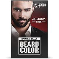 Beardo Beard Color For Men - Natural Black (30 ml Color Developer, 30 ml Creme Colorant)