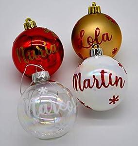 Bolas de Navidad personalizadas para