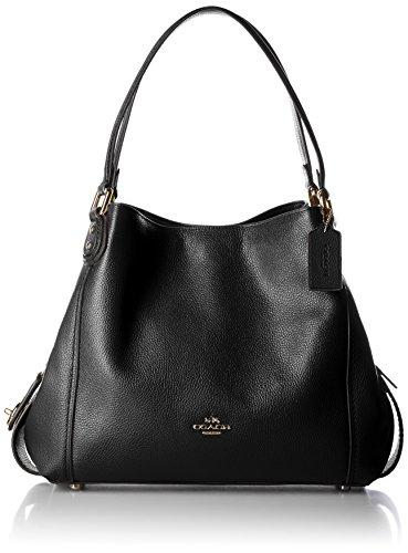 New Bag Coach Style (Coach Edie 31 Beuteltasche schwarz 33cm)