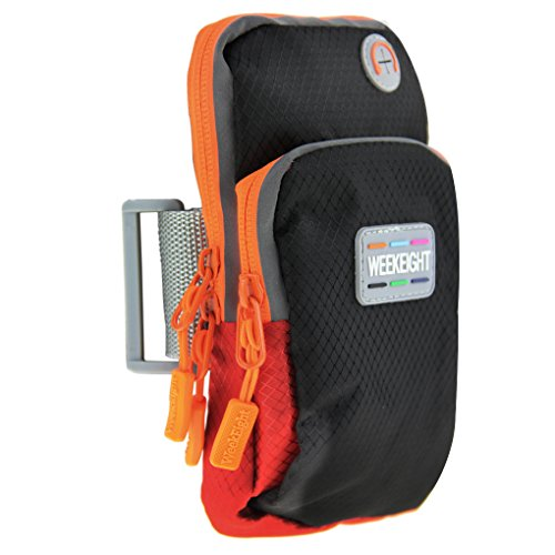 Tasche Armtasche Handtasche Armbänder Geldbörse Geldbeutel Sporttasche Hülle Sportarmtasche Handyhalter für alle Damen und Herren bei Joggern Wandern Laufen Reise Klettern Radfahren Sport und Arbeit Schwarz