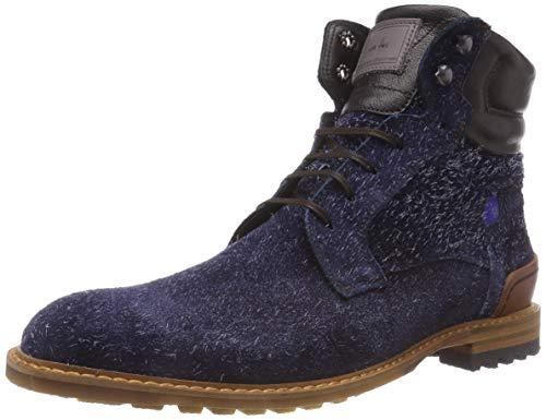 Floris Van Bommel 10234/15, Herren Klassische Stiefel, Blau (Dark Blue 15), 43 EU (9 UK) (Vans Blue Suede)