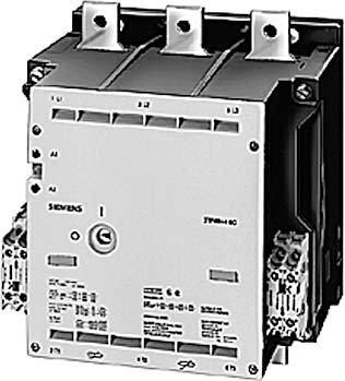 SIEMENS 3TF69 - CONTACTOR 820A 450KW/400V 33 110VCC PLETINA