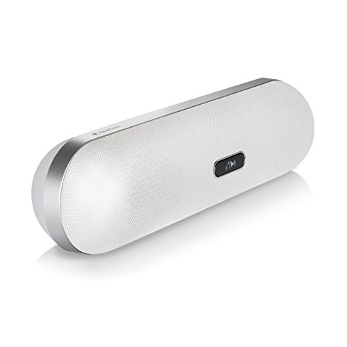 Bluetooth-Lautsprecher - Funklautsprecher XP+ iQual tech - Pillenförmige Design mit hände frei mikrofon + hochwertig 2x5 watt Bluetooth-Lautsprecher (Hände Lautsprecher Frei Bluetooth Die)