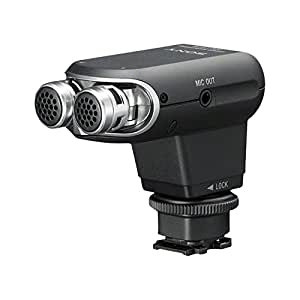 Sony ECMXYST1M.CE7 Stereomikrofon für Camcorder mit Multi-Interface-Zubehörschuh