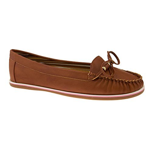 London Footwear , Sandales Compensées femme Marron