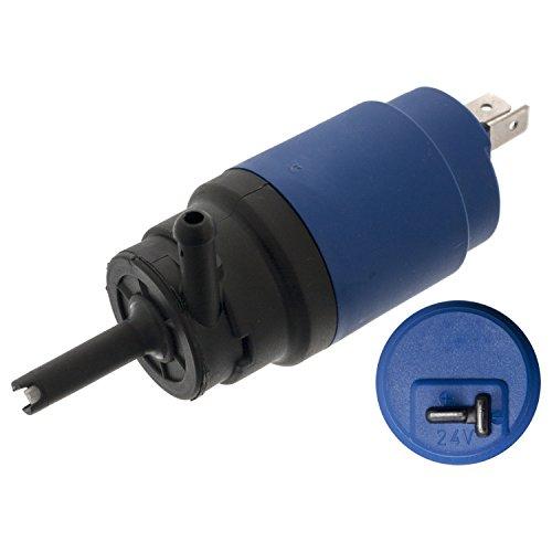 febi bilstein 09299 Waschwasserpumpe / Wischwasserpumpe für Scheibenreinigungsanlage , 24 Volt, 1 Stück (Volvo Marine Teile)