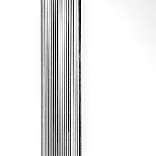 QAZQA Modern Stehleuchte / Stehlampe / Standleuchte / Lampe / Leuchte Line-up LED Chrom Dimmer / Dimmbar / Innenbeleuchtung / Wohnzimmer / Schlafzimmer / Küche Kunststoff / Metall / Rund inklusive LED - 6