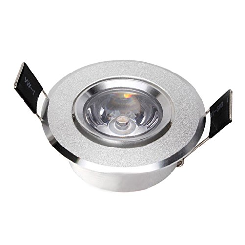 Chrome Island Light (Modernes Set Compact Universal Feste Isolierung Abdeckbare Fire Rated LED Downlights - Polierte Chrome Light Fitting Chrome Ausschnitt 42-45mm ( Color : White light ))