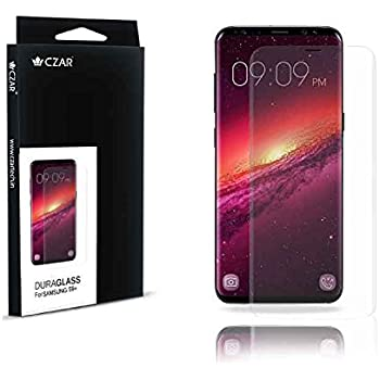Czar Bubble-Free Anti-Scratch Ultra Clear High Definition Film Screen Protector for Samsung S9+
