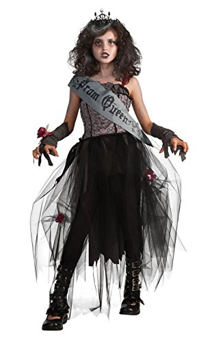 Rubie 's Girl 's Offizielles Gothic Prom Queen Kostüm – Large, Mehrfarbig (Gothic Prom Queen Kostüme)