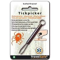 TravelSafe rostfreie Zeckenzange Zeckenpinzette Erste Hilfe preisvergleich bei billige-tabletten.eu