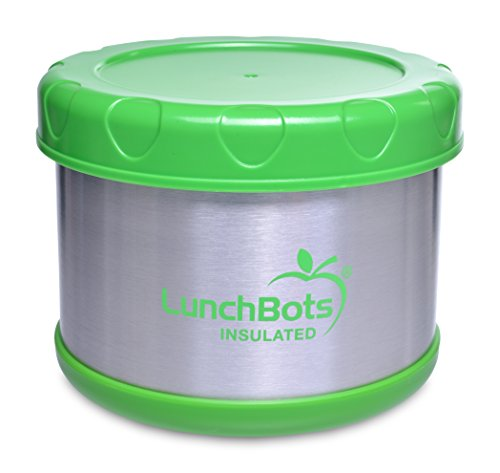 LunchBots Thermo 473 ml Edelstahl isolierte Food Container lindgrün